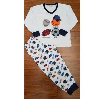 Pijama Esportes - 5 anos - De Millus