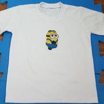Camiseta Minions - 5 anos - Não informada