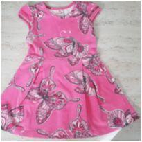 Vestido Borboletas - 4 anos - Brandili