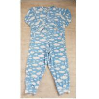Pijama / Macacão Soft Nuvens - TOKA DOS SONHOS - 5 anos - Não informada