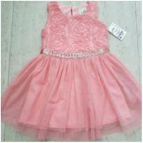 Vestido Festa Princesa - 18 a 24 meses - Lily Bleu