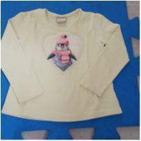 Camiseta Pinguim - 4 anos - Milon