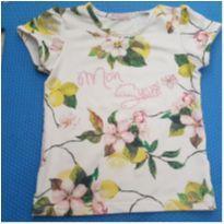 Camiseta Floral - 24 a 36 meses - Mon Sucré