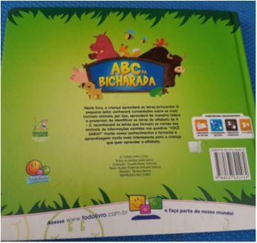 Livro A B C da Bicharada - Sem faixa etaria - Todo Livro