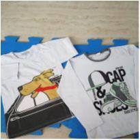 Duo de Camisetas - 5 anos - Não informada