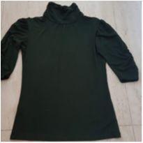 Blusa Fashion Verde Oliva - Fond Du Lac - P - 38 - Nacional