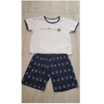 Pijama Verão Marinheiro