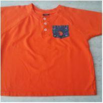 Camiseta Laranjada - 6 anos - US Polo Assn