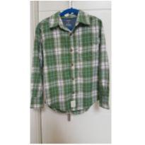Camisa Xadrez Verde - 5 anos - Carter`s