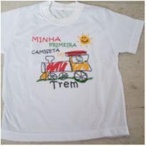 Camiseta do Trem - 3 anos - Nacional