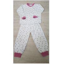 Pijama Joaninha - 3 anos - Heduthi Baby