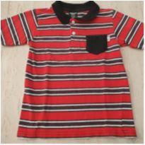 Camiseta Pólo Listras