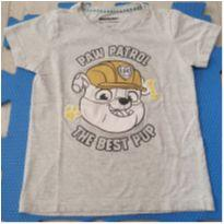 Camiseta Rubble (Patrulha Canina) - 6 anos - nickelodeon e Riachuelo