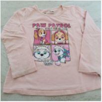 Camiseta Skye e Everest (Patrulha Canina) - 4 anos - nickelodeon
