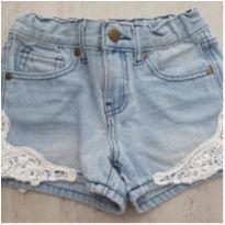 Shorts Jeans Renda - 6 anos - Walmart