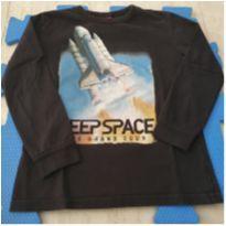 Camiseta Foguete - 6 anos - Kyly