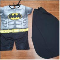 Fantasia Batman - 3 anos - Nacional