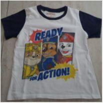 Camiseta Patrulha Canina - 6 anos - nickelodeon