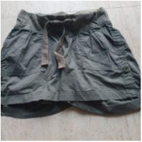 Shorts Gestante Verde da Angel Kiss Maternity - P - 38 - Importado EUA