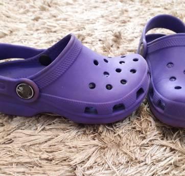 Crocs Roxo - 24 - Crocs