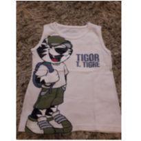 Camiseta Regata Tigor T. Tigre - 4 anos - Tigor T.  Tigre