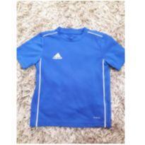 Camiseta Adidas Original Climalite Azul - 4 anos - Adidas