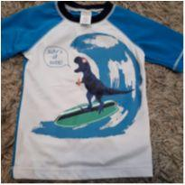 Camiseta UV Gymboree Dinossauro - 3 anos - Gymboree