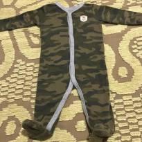 Macacão camuflado super charmoso - 6 meses - Carter`s
