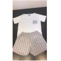 short e camiseta de pijama kidstok - 1 ano - Kidstok