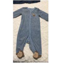 Macacão Carter's aveludado - 6 meses - Carter`s
