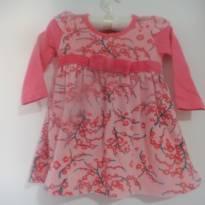 vestido Kyly de manga comprida - 1 ano - Kyly