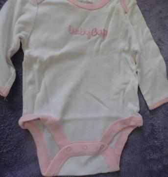 Body Baby Gap - 3 a 6 meses - GAP e Baby Gap