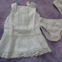 vestido OsKosh - 6 meses - OshKosh