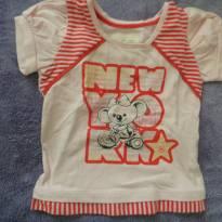 camiseta Lilica Ripilica - 9 a 12 meses - Lilica Ripilica e Lilica Ripilica Baby