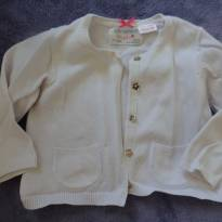 Bolero branco Zara - 3 a 6 meses - Zara e Zara Baby