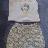 Conjunto Hello Kitty - 3 meses - Hello  Kitty