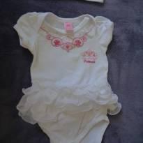 Body Lilica Ripilica com Tutu - Recém Nascido - Lilica Ripilica e Lilica Ripilica Baby