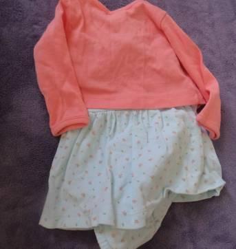 Vestido com bolero carters - 3 meses - Carter`s