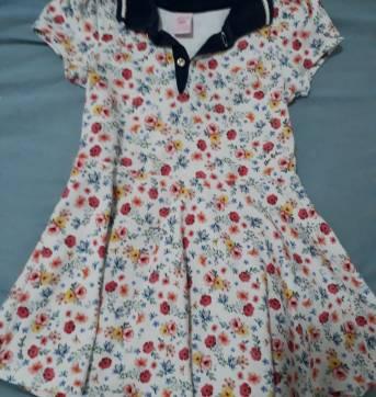 Vestido estilo polo Lilica Ripilica - 12 a 18 meses - Lilica Ripilica e Lilica Ripilica Baby