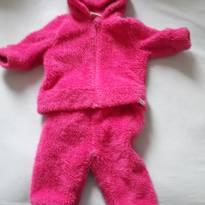 conjunto de frio pink fofinho! - 3 a 6 meses - Sem marca