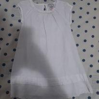vestido branco importado - 24 a 36 meses - Importado