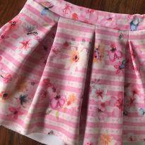 Short saia floral - 2 anos - KiKA