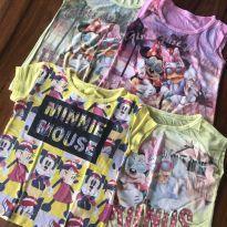 Kit com 4 blusinhas da Minnie - 2 anos - Disney