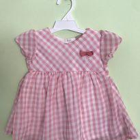 Vestido xadrezinho maravilhoso - 3 meses - Milon