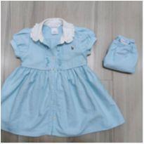 Vestido Ralph Lauren - 9 a 12 meses - Ralph Lauren