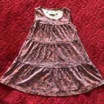 Vestido Florido - 3 anos - Poim, Cherokee e Up Baby