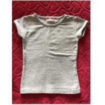 Camiseta Cinza - 2 anos - Poim, Cherokee e Up Baby