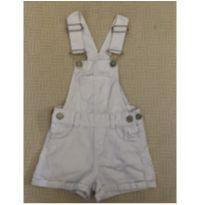 Macacãozinho curto branco - 24 a 36 meses - Kids Denim Girls