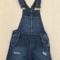 Macacão curto jeans - 24 a 36 meses - Kids Denim Girls