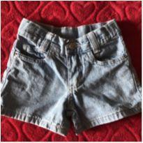 Short Jeans Claro - 1 ano - Leader